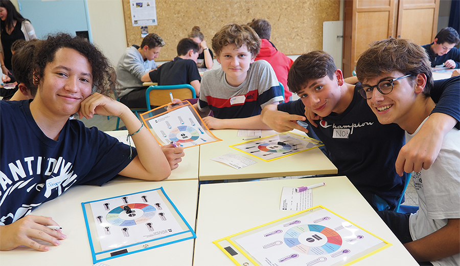 France: 870 students, 26 establishments and 34 classes made aware of SDG 16 this year!